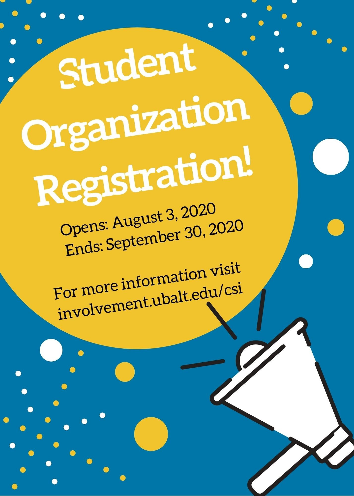 Student Org Registration